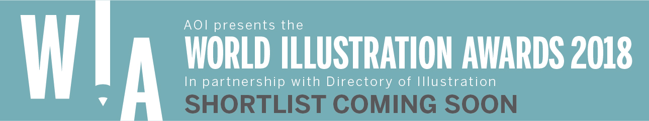 World Illustration Awards Banner